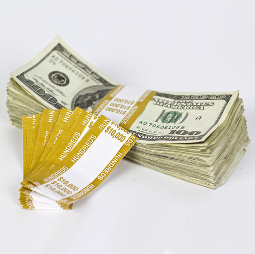 Gorgeous Money Currency Bands